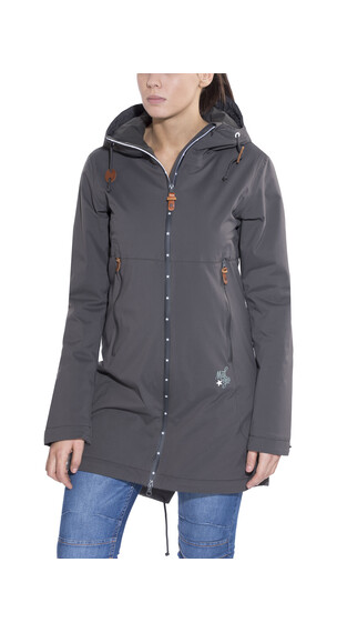 Maloja ChiloquinM. Padded Coat Women charcoal